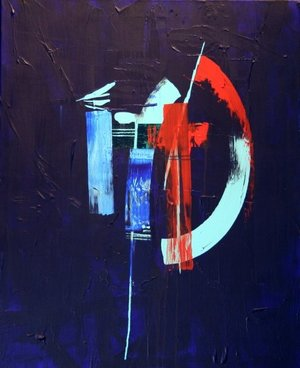 Blue 1 sold during the Achilles show
