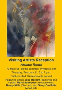 Visiting Artists Reception