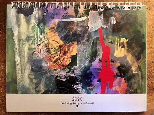 2020 calendar by Jess Barnett