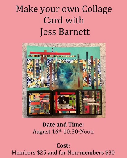 My Collage Art Class Rescheduled New Date Sept 14 at 2 pm