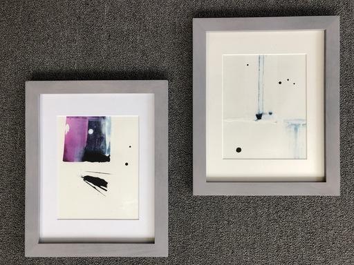 Still Winter 1 and 2 by Jess Barnett