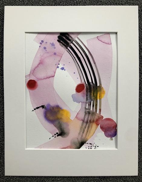 Transfer (original watercolor/gouache)